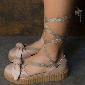 FENTY PUMA by Rihanna bow sandal